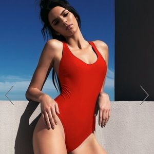[NWT] Kendall + Kylie Red One-piece Swimsuit
